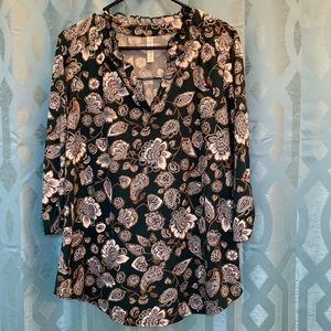 PerSeption Concept women's X large v neck top nice